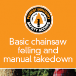 Basic chainsaw felling & manual takedown - 302