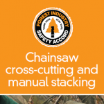 Chainsaw cross-cutting & manual stacking - 304