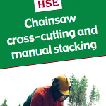 Chainsaw cross-­cutting and manual stacking - afag304