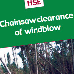 Chainsaw clearance of windblow - afag306