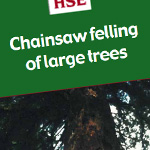 Chainsaw felling of large trees - afag307