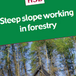 Steep slope working in forestry - afag705