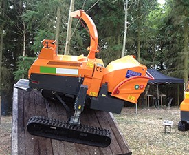 Tracked Woodchipper